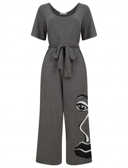 Jumpsuit in grey