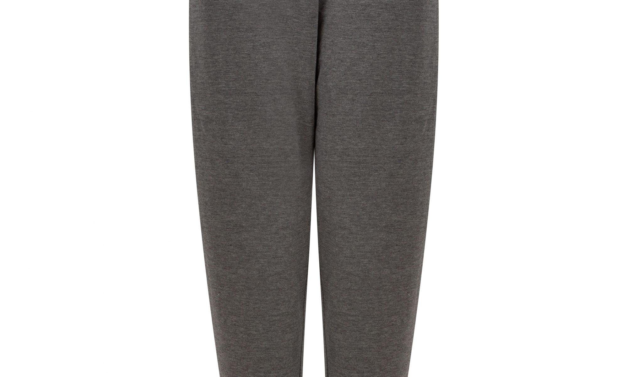 Pencil joggers in grey